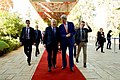 Secretary Kerry Walks With Israeli President Rivlin Prior to Their Bilateral Meeting (23250281776).jpg