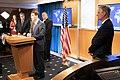 Secretary Pompeo, Secretary Esper, Attorney General Barr, and National Security Advisor O'Brien Hold a Press Availability (49995415637).jpg
