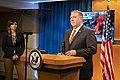 Secretary Pompeo Briefs the Press (49128302156).jpg