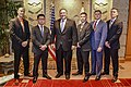 Secretary Pompeo Poses for a Photo with the Marine Security Guard Detachment of U.S. Embassy Tokyo (45130750971).jpg