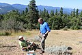 Secretary Zinke hikes the Pacific Crest Trail (35149313983).jpg
