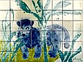 """Section from the wall - covering at """"Zoological Garden Station"""" (Lisbon Subway) - Julio Resende (1917 - 2011) (39136611160).jpg"""