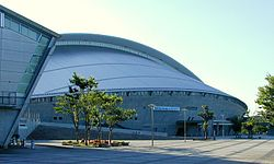 Sekisui Heim Super Arena viewed from the southeast cropped.jpg