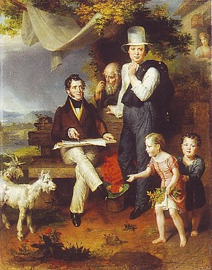 George Dawe - Image: Selfportrait with G. Dawe and family