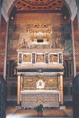 John of the Cross - Saint John of the Cross' shrine and reliquary, Convent of Carmelite Friars, Segovia