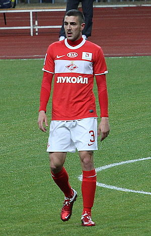 Rodri (footballer, born 1984) - Rodri in action for Spartak Moscow