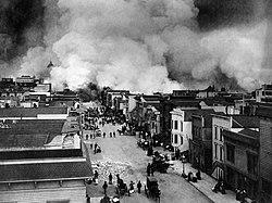 Burning of San Francisco, Mission District