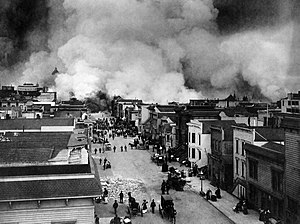 1906 (novel) - Burning of San Francisco, Mission District (1906)