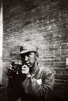 Sha Fei, photographed by his student Gu Di
