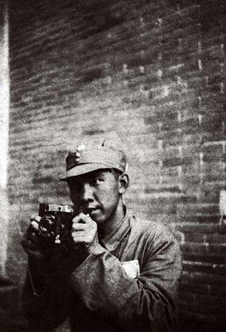 Sha Fei - Sha Fei, photographed by his student Gu Di