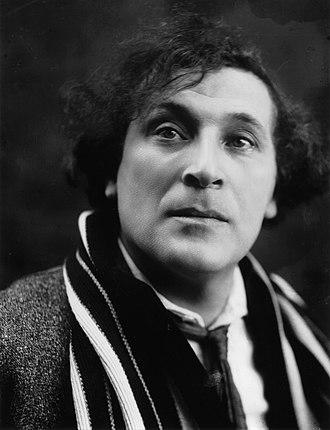 Marc Chagall - Chagall, c.1920 (by Pierre Choumoff)