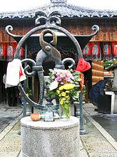 La statue de « Jizo-tenaille »
