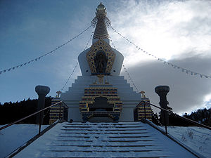 The Great Stupa at Shambhala Mountain Center, ...