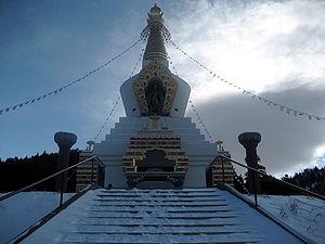 The Great Stupa at Shambhala Mountain Center, ...