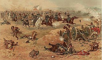 2nd West Virginia Volunteer Cavalry Regiment - Final charge at Opequon