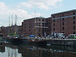Ships in the Canning Half-tide dock, Liverpool - 2013-06-07 (1).JPG