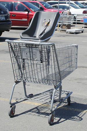 finders keepers.  If you find something in a shopping cart, is it yours?English: Shopping Cart with Baby Seat, picture...