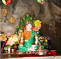 Shrine to Mandarava in cave above Lake Rewalsar.jpg