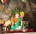 Shrine to Mandarava in cave above Lake Rewalsar.jpg