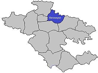 Shrirampur taluka - Image: Shrirampur Tehsil in Ahmednagar District