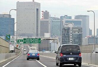 Route 11 (Shuto Expressway) - Near Shibaura Rest Area