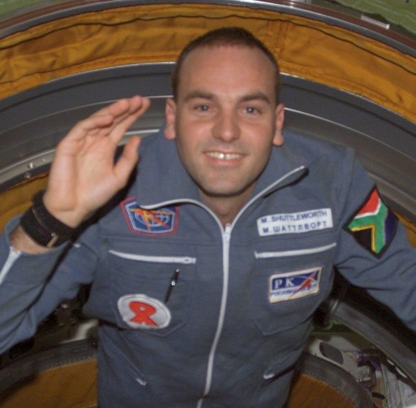 Shuttleworth big NASA