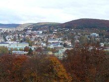 Fichier:Sicht auf Bad Kissingen vom Altenberg - Video.ogv