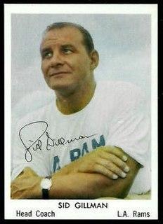 Sid Gillman American football player and coach (1911–2003)