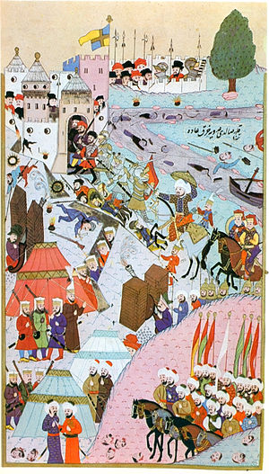 Ottoman Serbia - Ottoman Army during the Siege of Belgrade (1456).