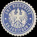 Siegelmarke Amt Biederitz Kreis Jerichow I. W0345536.jpg