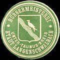 Siegelmarke Bürgermeisterei Stadt Langenschwalbach - Unter - Taunus - Kreis W0220191.jpg