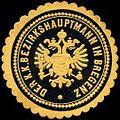 Siegelmarke Der K.K. Bezirkshauptmann in Bregenz W0261172.jpg