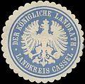 Siegelmarke Der K. Landrath Landkreis Kassel W0391631.jpg