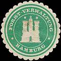 Siegelmarke Forst-Verwaltung Hamburg W0393060.jpg