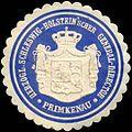 Siegelmarke Herzogl. Schleswig-Holsteinscher General-Director Primkenau W0310542.jpg