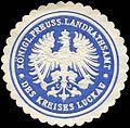 Siegelmarke Königlich Preussische Landrathsamt des Kreises Luckau W0224278.jpg