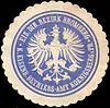 Siegelmarke Königliche Eisenbahn Betriebs - Amt Koenigsberg - Eisenbahn Direktions Bezirk Bromberg W0215751.jpg