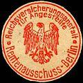 Siegelmarke Reichsversicherungsanstalt für Angestellte - Rentenausschuss - Berlin W0220623.jpg