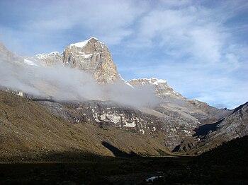 Sierra Nevada del Cocuy Ritacuba Blanco 23.01.2009