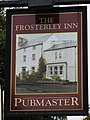 Sign for The Frosterley Inn - geograph.org.uk - 1581126.jpg