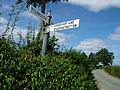 Signpost at Arscott - geograph.org.uk - 207305.jpg