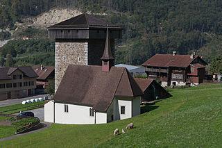 Silenen Place in Uri, Switzerland