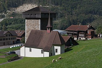 Silenen - Image: Silenen Meierturm Burghofstatt