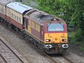 Silk Mills - DB Cargo 67024 returning from Paignton to Crewe.JPG