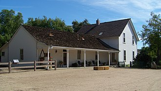 Simi Adobe–Strathearn House - The Simi adobe house
