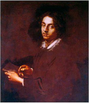 Simone Cantarini - Self portrait, 1630s