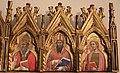 Simone dei crocifissi, polittico dai ss. leonardo e orsola, 1385-90 ca. 04.jpg