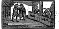 Simple Simon's misfortunes and his wife Margery's cruelty, which began the very next morning after their marriage Fleuron T190535-12.png