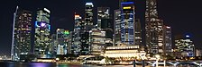 Singapore Skyline at Night with Black Sky (banner esVoy).JPG