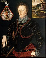 Hoby's brother Edward in 1583 Sir Edward Hoby 1583.jpg